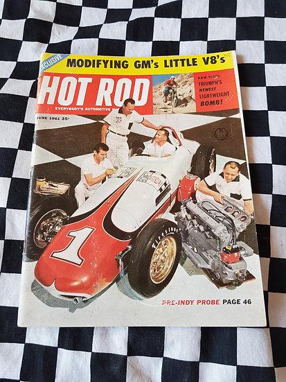 HOT ROD magazine (USA) June 1961