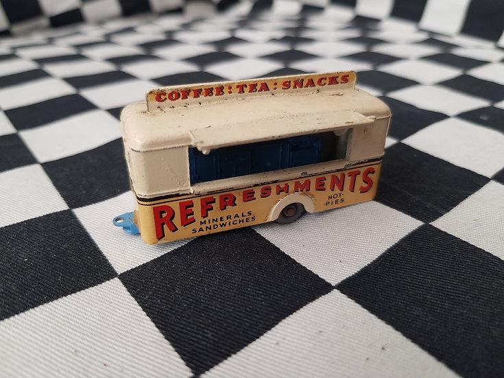 Lesney Mobile Canteen Rare Cream Light Blue Base loose Vintage van