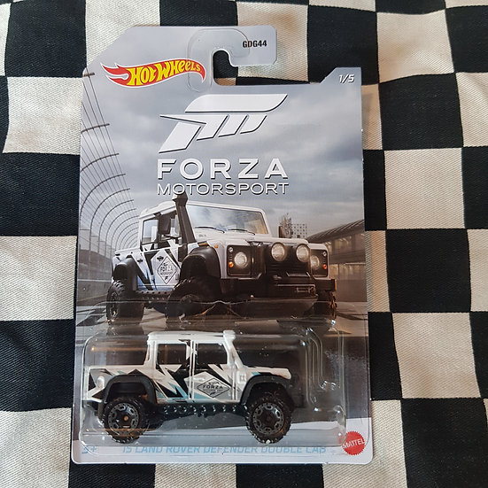 Hot Wheels Forza Motorsport 15 Land Rover Defender Double Cab
