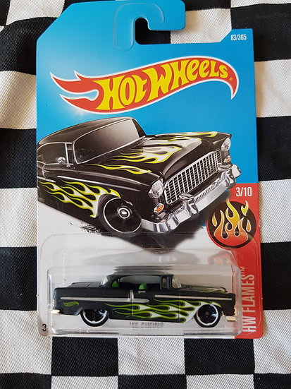 Hot wheels 55 chevy