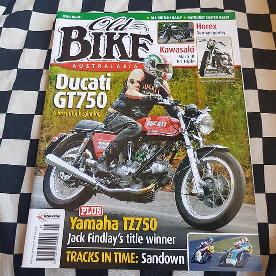 Old Bike Magazine #45 Vintage/ Classic Motorcycles
