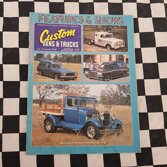 Custom Vans & Trucks Magazine #14