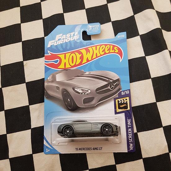 Hot Wheels 2019 Screen Time Series Fast & Furious 15 Mercedes AMG GT