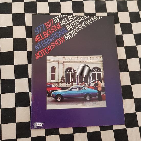 1977 Melbourne International Motor Show Programme
