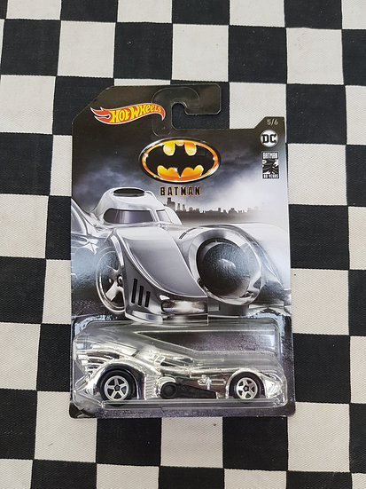 Hot Wheels 80th Anniversary Chrome Batmobile VHTF