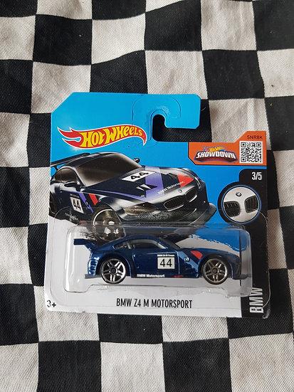Hotwheels 2016 BMW Series BMW Z4 M Motorsport Dark Blue