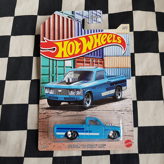 Hot Wheels Themed Pickups Custom 72 Chevy Luv 5/5