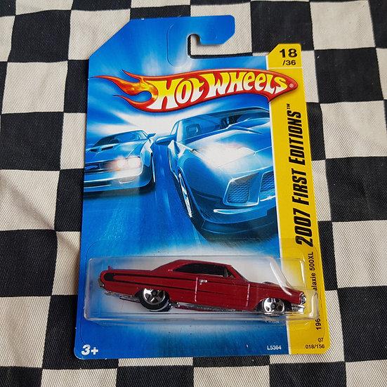 Hot Wheels 2007 First Editions 1964 Ford Galaxie 500xl Maroon