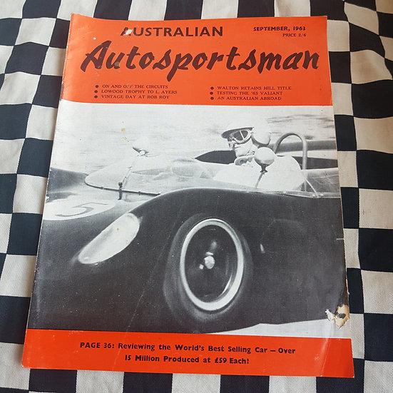 Australian Autosportsman  Sept 1963