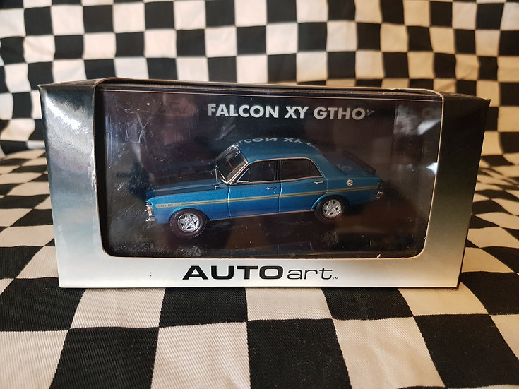 Autoart 1:43 Ford Falcon XY GTHO Electric Blue