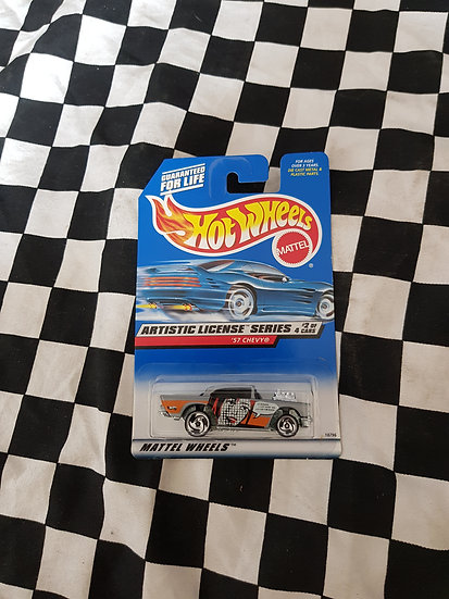 Hot Wheels 1997 Artistic License 57 Chevy