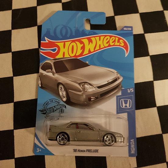Hot Wheels 2020 Honda Series 98 Honda Prelude Silver