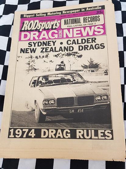 Australian Rodsports Drag Racing News #151