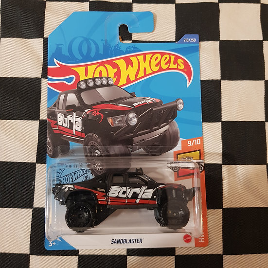 Hot Wheels 2020 Hot Trucks Sandblaster Borla Black
