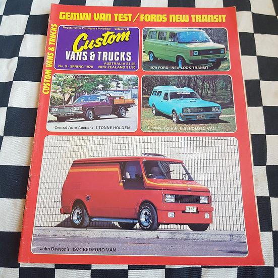 Custom Vans & Trucks Magazine #9