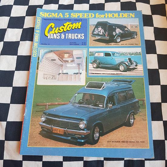 Custom Vans & Trucks Magazine #16
