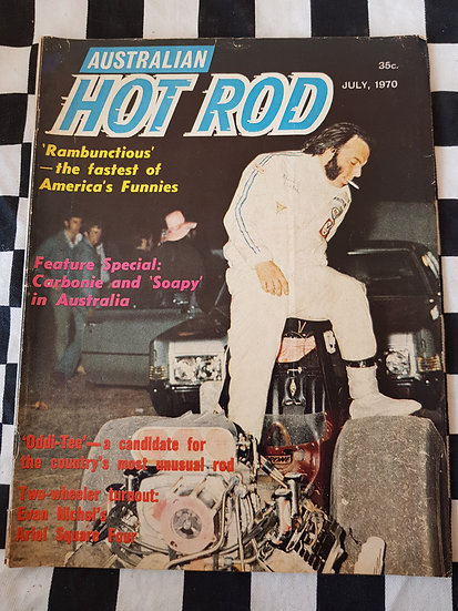 AUSTRALIAN HOT ROD july 1970
