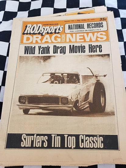Australian Rodsports Drag Racing News #156