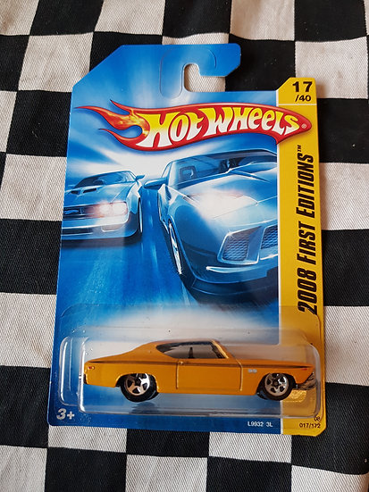 Hot Wheels 2008 First Editions 1969 Chevelle Yellow