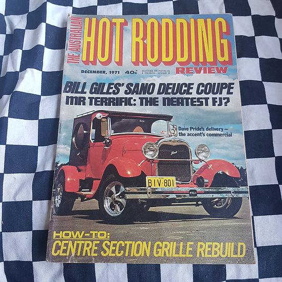 Australian Hot Rodding Review Dec 1971