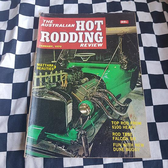 Australian Hot Rodding Review Jan 1970