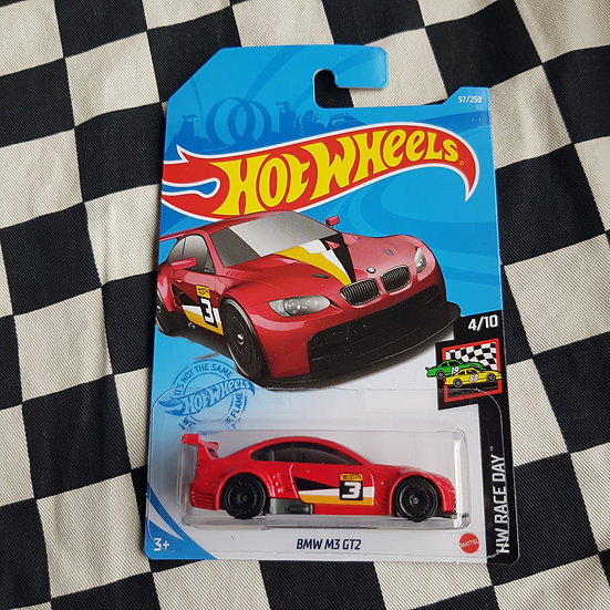 Hot Wheels 2021 Race Day BMW M3 GT2 Red
