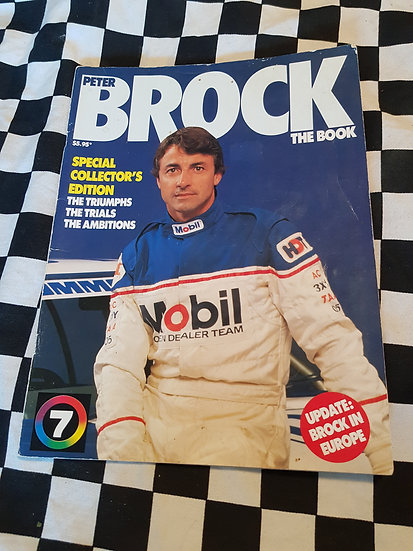 PETER BROCK The Book Special Collectors Edition Magazine