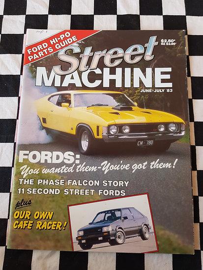 STREET MACHINE june july 1983