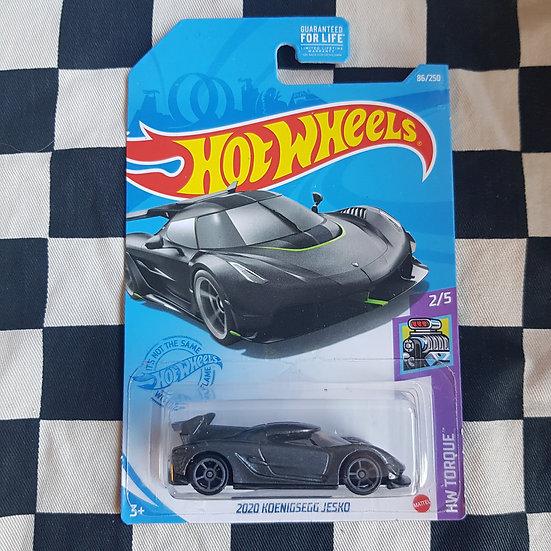 Hot Wheels 2021 Torque 2020 Keonigsegg Jesko Grey