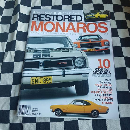 Restored Monaro's #2 Magazine