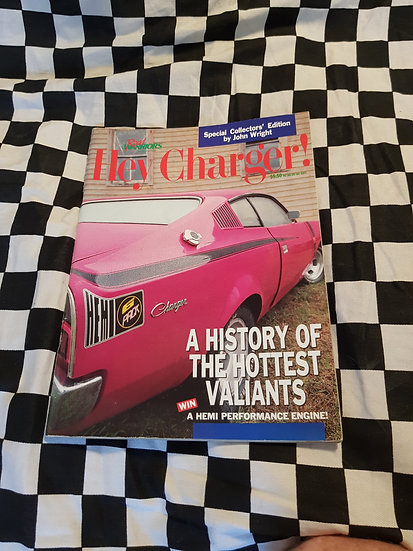 THE ORIGINAL  Hey Charger #1  NOT THE REPRINT