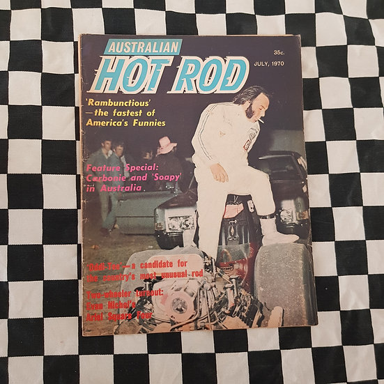 Australian Hot Rod Magazine July 1970