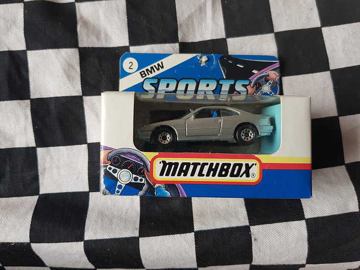 Matchbox Boxed 1991 BMW Sports BMW 850i