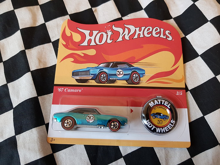 Hot Wheels 2018 50th Original Card 67 Camaro