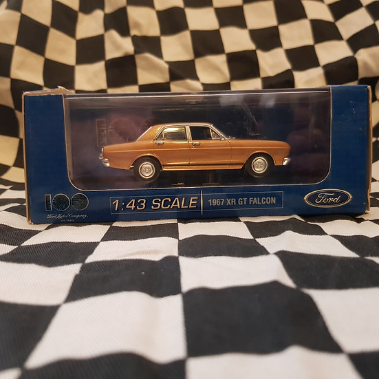Classic Carlectables 1:43 1967 XR GT Falcon 100 Years Ford Anniversary