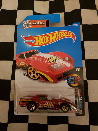 Hot Wheels 2015 Mild to Wild 76 Greenwood Corvette