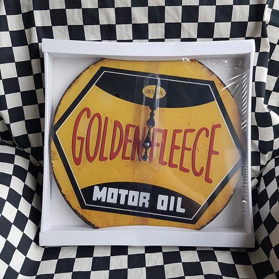 Golden Fleece 38cm Clock