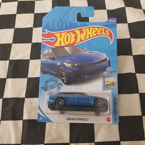 Hot Wheels 2020 Factory Fresh 2019 Kia Stinger GT Blue