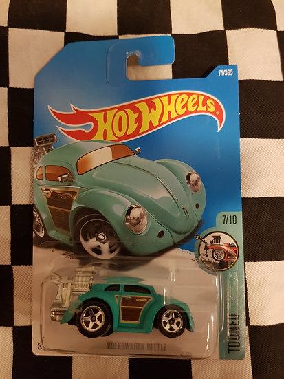 Hotwheels (2015) Tooned Volkswagen Beetle teal