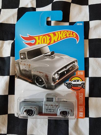 Hot wheels custom 56 ford truck (F100) grey