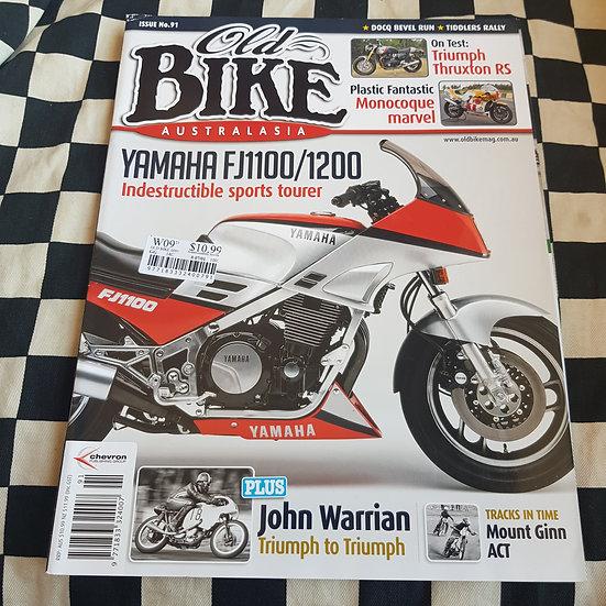 Old Bike Magazine #91 Vintage/ Classic Motorcycles