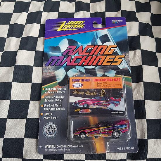 Johnny Lightning Racing Machines Bunny Burkett Dodge Daytona T/A Funny Car