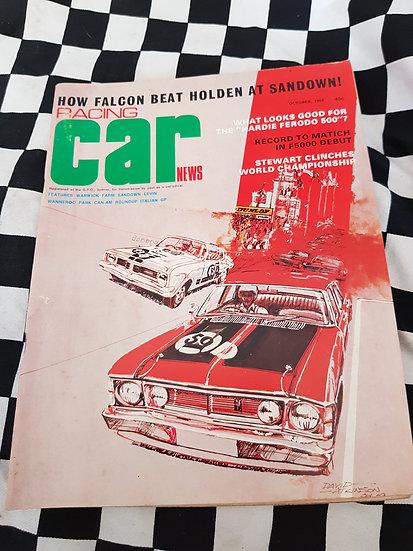 RACING CAR NEWS 10/69 xw gt ht gts