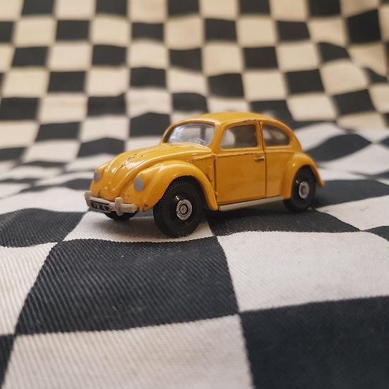 Corgi Volkswagen Beetle Split Window Yellow Loose 1:64