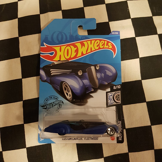 Hot Wheels 2020 Rod Squad Custom cadillac Fleetwood Blue