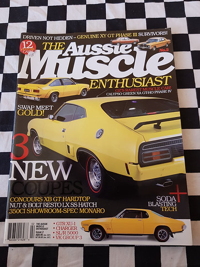 THE AUSSIE MUSCLE ENTHUSIAST magazine #2