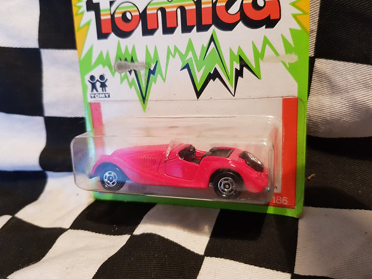 Vintage Tomica Morgan Sports Car