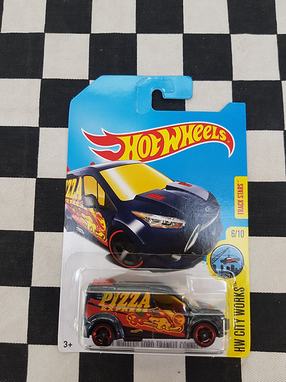 Hot Wheels 2015 TREASURE HUNT Ford Transit PIZZA Van
