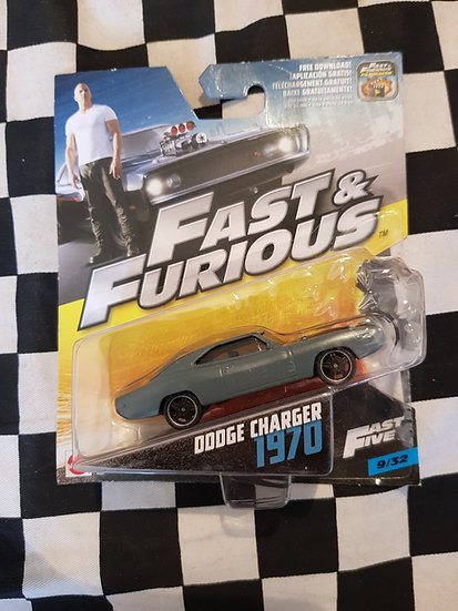Fast & Furious 1:50 1970 Dodge Charger