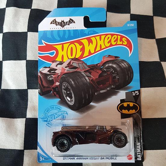 Hot Wheels 2020 Batman Arkham Knight Batmobile Maroon